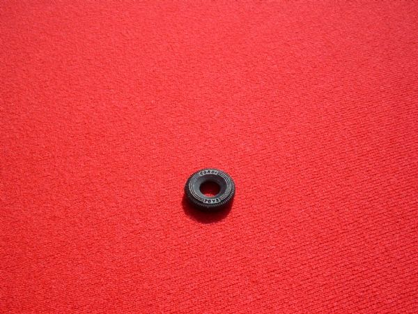 "12mm Black Treaded ""CORGI TOYS"" for Mini's etc from 1967 Tyre (Each)"